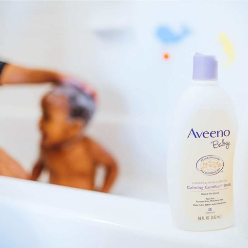 Buy Aveeno Baby Calming Comfort Bath, 532ml online with Free Shipping at Baby Amore India, Babyamore.in