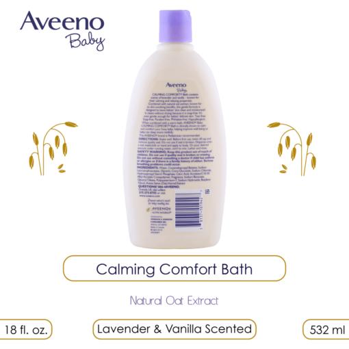 Aveeno Baby Calming Comfort Bath, 532ml