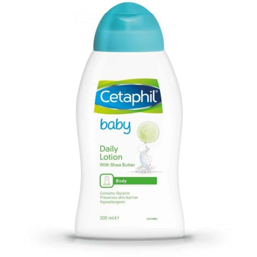 Buy Cetaphil Baby Daily Lotion, 300ml online with Free Shipping at Baby Amore India, Babyamore.in