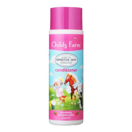 Buy Childs Farm Conditioner Strawberry & Organic Mint, 250 ml online with Free Shipping at Baby Amore India, Babyamore.in