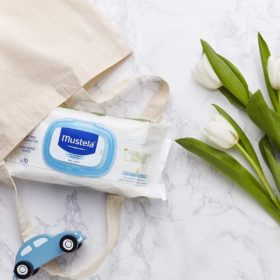 Buy Mustela Cleansing Wipes, 70 Counts online with Free Shipping at Baby Amore India, Babyamore.in