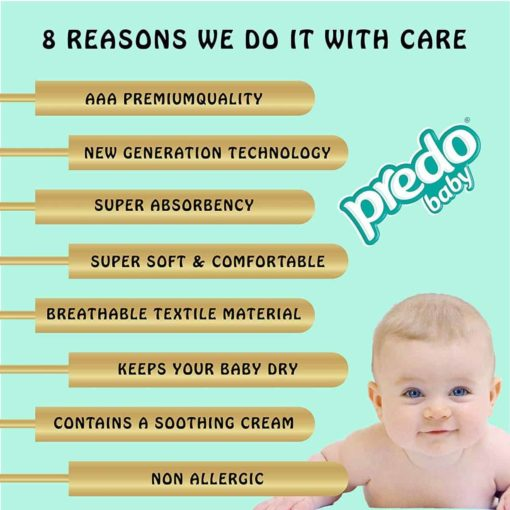 Buy Predo Baby Junior Eco 11-25kg, Size 5, 16 pieces online with Free Shipping at Baby Amore India, Babyamore.in