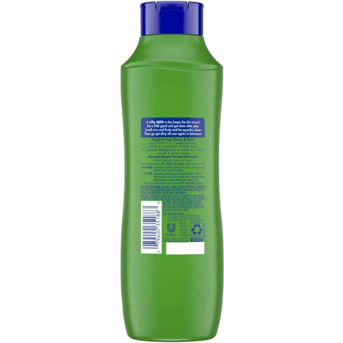 9f5e6444d9c7 Suave Kids Apple 3 in 1 Shampoo + Conditioner + Body Wash, 665 ml