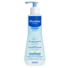 Buy Mustela No Rinse Cleansing Water, with Natural Avocado Perseose and Aloe Vera, 300ml online with Free Shipping at Baby Amore India, Babyamore.in