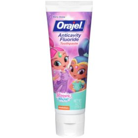 Buy Orajel Anticavity Fluoride Toothpaste, Berry Divine, 119g online with Free Shipping at Baby Amore India, Babyamore.in
