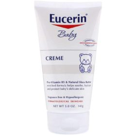 Buy Eucerin Baby Creme, Gentle Every Day Lotion for Sensitive Skin, 141g online with Free Shipping at Baby Amore India, Babyamore.in