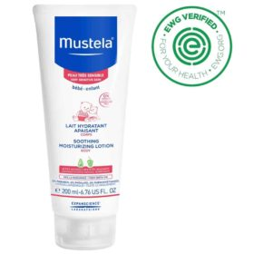 Buy Mustela Soothing Moisturizing Body Lotion, 200 ml online with Free Shipping at Baby Amore India, Babyamore.in