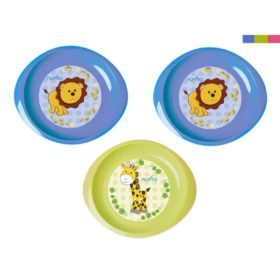 Buy Nuvita Baby Plate, First Numbers, Set of 3 online with Free Shipping at Baby Amore India, Babyamore.in
