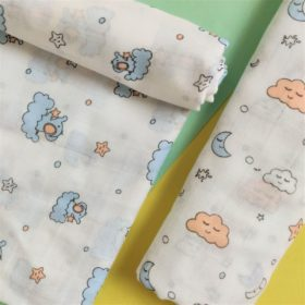 Buy Muslin Cotton Swaddles (Pack of 2) - Sleepy Jumbo online with Free Shipping at Baby Amore India, Babyamore.in
