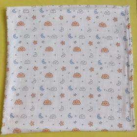 Buy Organic Muslin Cotton Blanket - Cloudy Night online with Free Shipping at Baby Amore India, Babyamore.in