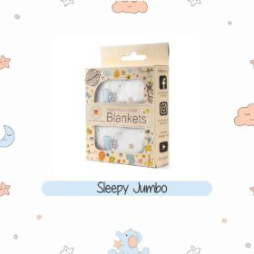 Buy Organic Muslin Cotton Blanket - Sleepy Jumbo online with Free Shipping at Baby Amore India, Babyamore.in