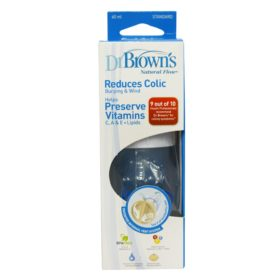 Buy Dr. Brown's Natural Flow Feeding Bottle, 60 ml online with Free Shipping at Baby Amore India, Babyamore.in