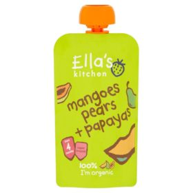 Buy Ella's Kitchen Strawberries and Apples - 120g online with Free Shipping at Baby Amore India, Babyamore.in