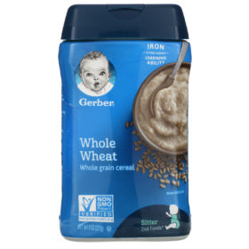 Buy Gerber Whole Wheat Whole Grain Cereal - 227g online with Free Shipping at Baby Amore India, Babyamore.in