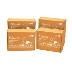 Buy Bhoomi & Co Bio-Degradable Bamboo Baby Diapers, Single online with Free Shipping at Baby Amore India, Babyamore.in