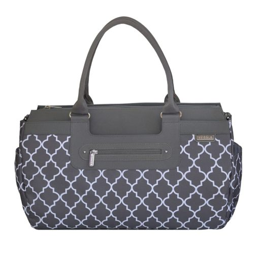 Buy JJ Cole Parker Diaper Bag, Stone Arbor online with Free Shipping at Baby Amore India, Babyamore.in
