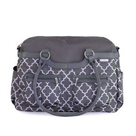 Buy JJ Cole Satchel Diaper Bag, Charcoal Infinity online with Free Shipping at Baby Amore India, Babyamore.in