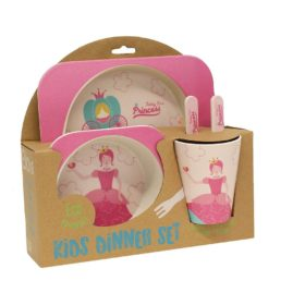 Buy Bamboo Fibre Eco Friendly Princess Dinnerware Set online with Free Shipping at Baby Amore India, Babyamore.in