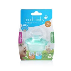 Buy Brush-Baby FrontEase Teether, 3+ months - Teal online with Free Shipping at Baby Amore India, Babyamore.in