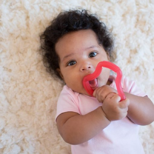 Buy Dr. Brown's Flexees Ergonomic Teether - Pink online with Free Shipping at Baby Amore India, Babyamore.in