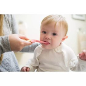 Buy Dr. Brown's Toddler Toothbrush,1-4 years - Flamingo online with Free Shipping at Baby Amore India, Babyamore.in