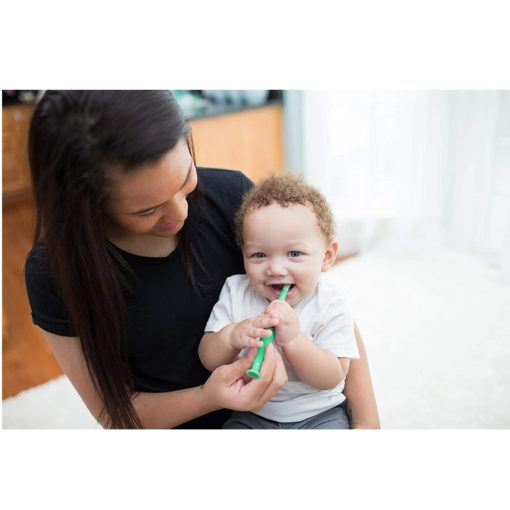 Buy Dr. Brown's Infant-to-Toddler Toothbrush, 1-4 years - Crocodile online with Free Shipping at Baby Amore India, Babyamore.in