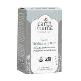 Buy Earth Mama Organic Herbal Sitz Bath - 6 Pads, 3.3 oz/93.6g online with Free Shipping at Baby Amore India, Babyamore.in