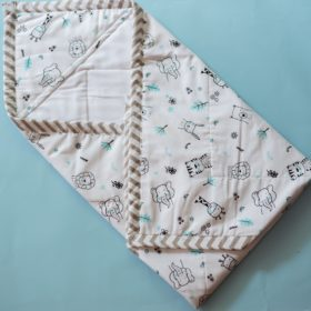 Buy BeeLittle Organic Cotton Wrap Beds - Into the Jungle online with Free Shipping at Baby Amore India, Babyamore.in