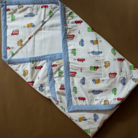 Buy BeeLittle Organic Cotton Wrap Beds - Traffic Jam online with Free Shipping at Baby Amore India, Babyamore.in