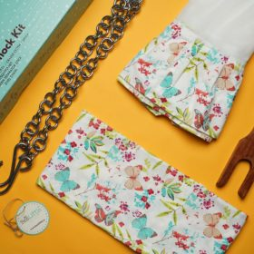 Buy BeeLittle Thottil Starter Kit – Pretty Butterflies online with Free Shipping at Baby Amore India, Babyamore.in