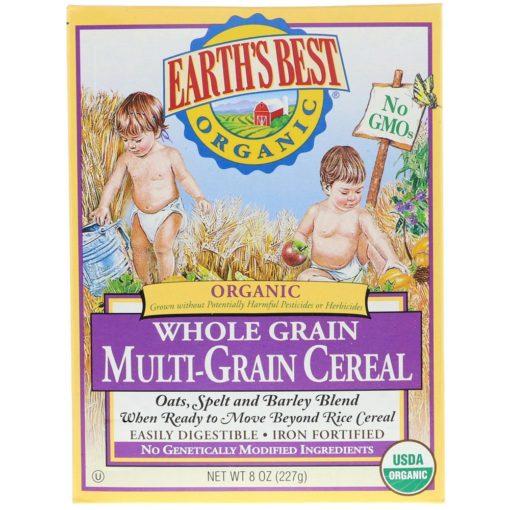 Earth's Best, Organic Multi Grain Cereal, 227g 023923900028