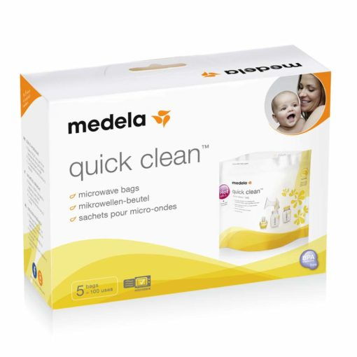 Buy Medela Quick Clean™ Microwave bags online with Free Shipping at Baby Amore India, Babyamore.in
