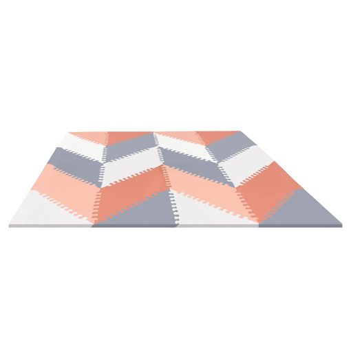 Buy SKIP Hop Playspot Geo Mat, Grey & Peach online with Free Shipping at Baby Amore India, Babyamore.in