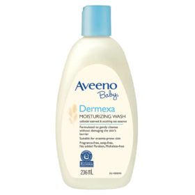 Buy Aveeno Baby Dermexa Moisturizing Wash, 236ml online with Free Shipping at Baby Amore India, Babyamore.in