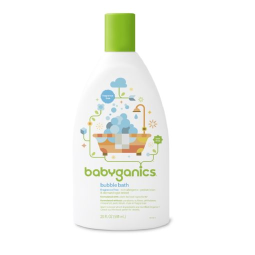 Buy Babyganics Bubble Bath, Fragrance Free, 20 fl.oz / 591ml online with Free Shipping at Baby Amore India, Babyamore.in