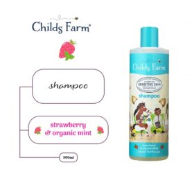 Buy Childs Farm Shampoo Strawberry & Organic Mint, 500ml online with Free Shipping at Baby Amore India, Babyamore.in