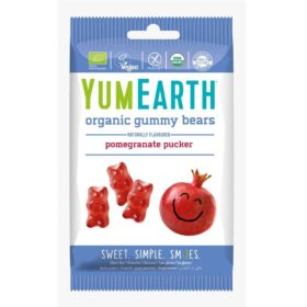 Buy YumEarth Organic Gummy Bears, Pomegranate Pucker - 50g online with Free Shipping at Baby Amore India, Babyamore.in