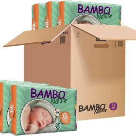 Buy Bambo Nature, Taped Diapers, Standard Pack - Carton online with Free Shipping at Baby Amore India, Babyamore.in