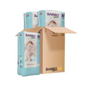 Buy Bambo Nature, Taped Diapers, Tall Pack - Carton online with Free Shipping at Baby Amore India, Babyamore.in