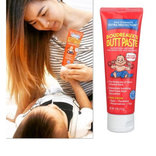 Buy Boudreaux's Butt Paste Maximum Strength Diaper Rash Ointment, 113g online with Free Shipping at Baby Amore India, Babyamore.in