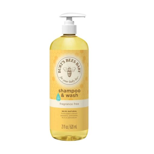 Buy Burt's Bees Shampoo & Wash Fragrance Free, 21floz/620ml online with Free Shipping at Baby Amore India, Babyamore.in