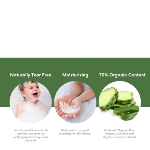 Buy Nature's Baby Organic Shampoo & Body Wash Coconut Pineapple 8oz/236.5ml online with Free Shipping at Baby Amore India, Babyamore.in