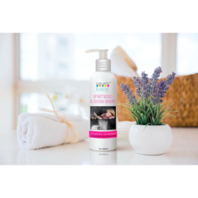 Buy Nature's Baby Organic Shampoo & Body Wash Lavender Chamomile 8oz/236.5ml online with Free Shipping at Baby Amore India, Babyamore.in