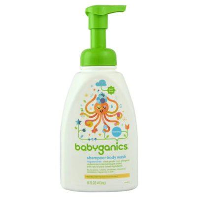 Buy Babyganics Shampoo + Body Wash, 7 fl.oz online with Free Shipping at Baby Amore India, Babyamore.in