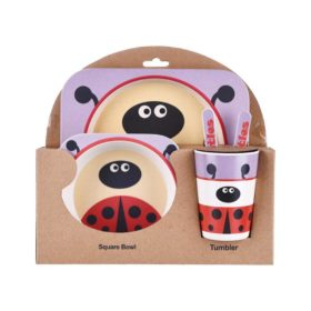 Buy Bamboo Fibre Eco Friendly Beetles Dinnerware Set online with Free Shipping at Baby Amore India, Babyamore.in