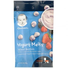 Buy Gerber Fruit & Veggie Melts, Mixed Berries 8+ Months - 28g online with Free Shipping at Baby Amore India, Babyamore.in