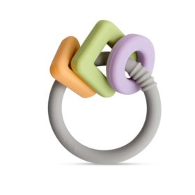 Buy Little Rawr Geo Shape Ring Teether Toy online with Free Shipping at Baby Amore India, Babyamore.in