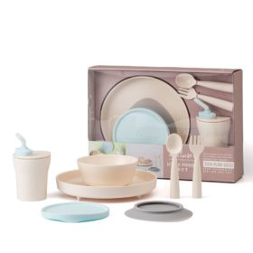 Buy Miniware Little Foodie All-in-one Feeding Set - Little Hipster online with Free Shipping at Baby Amore India, Babyamore.in