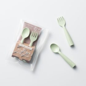 Buy Miniware My First Cutlery Fork & Spoon - Key Lime online with Free Shipping at Baby Amore India, Babyamore.in