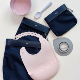 Buy Miniware Roll and Lock Silicone Bib - Key Lime online with Free Shipping at Baby Amore India, Babyamore.in